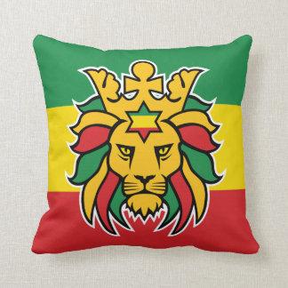León de Rastafari de Judah Cojín