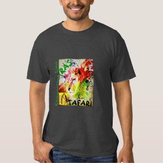 León de Rastafari Selassie de Judah Camiseta