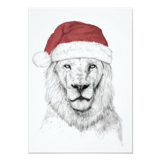 León de Santa II Invitación 12,7 X 17,8 Cm