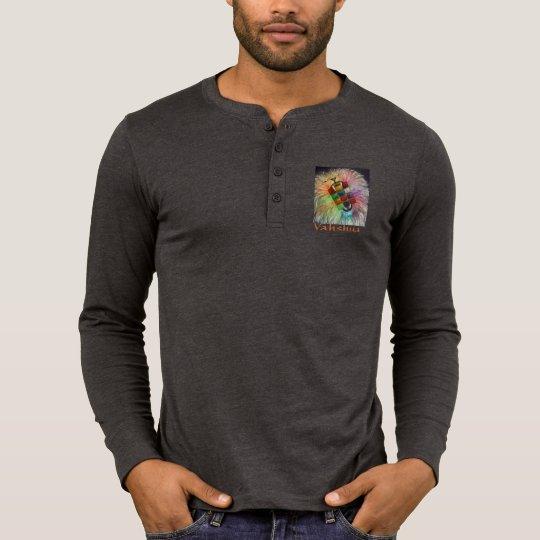 León de Yahshua y manga larga T de 12 tribus Camiseta