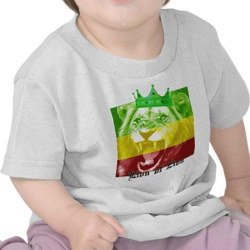 León de Zion Camisetas