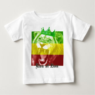 León de Zion Camiseta Para Bebé