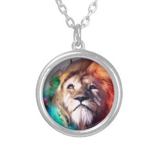 León del color de agua grimpola personalizada