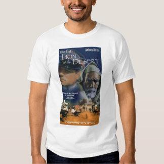 león del desierto camisetas