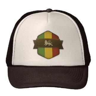 León del escudo de Judah Rasta Gorras De Camionero