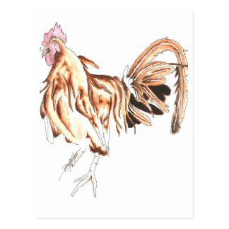 León del gallo del safari postal