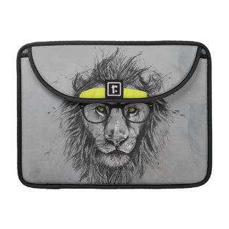 León del inconformista funda para macbooks