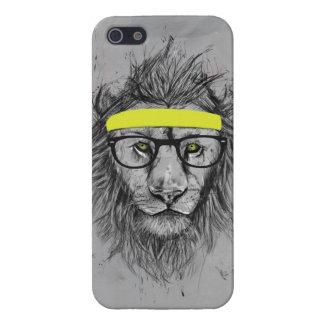 león del inconformista iPhone 5 carcasa