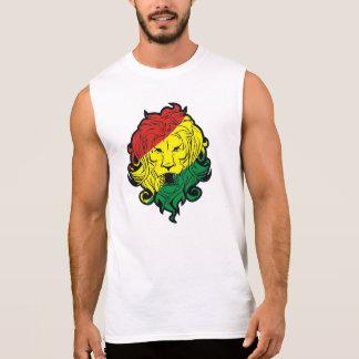 león del rasta camiseta sin mangas