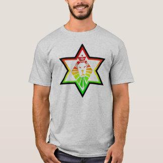 León del reggae de Cori Reith Rasta Camiseta