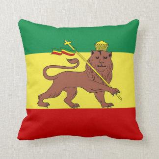 León del reggae de Rasta de Judah Cojines