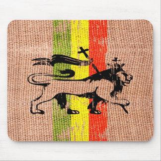 León del rey del reggae alfombrilla de ratón