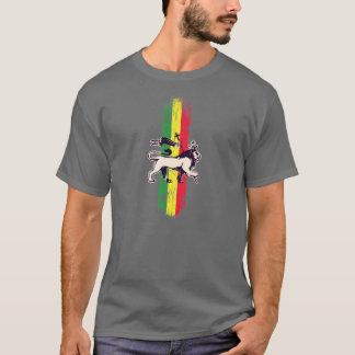 León del rey del reggae camiseta