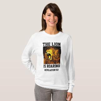 LEÓN del RUGIDO de JESÚS YESHUA de las camisetas