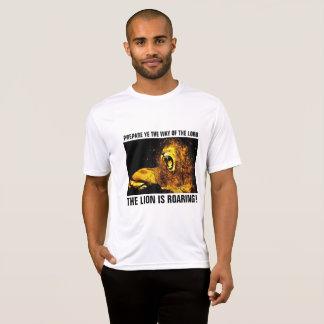 LEÓN del RUGIDO de JUDAH, camisetas CRISTIANAS
