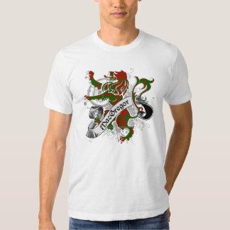 León del tartán de MacGregor Camisetas
