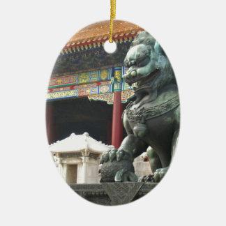 León del templo ornatos