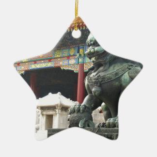León del templo adorno para reyes