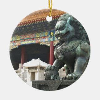 León del templo ornato