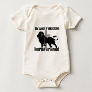 León doméstico peleles de bebé