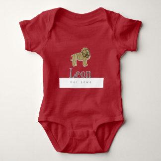 Leon el león jersey Body para bebés