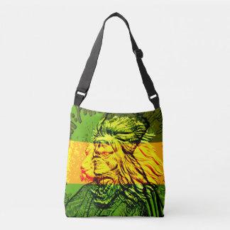 León jamaicano de la bolsa para transportar