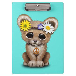 León lindo Cub del Hippie Carpeta De Pinza