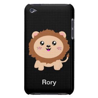 León lindo del dibujo animado iPod touch Case-Mate carcasas