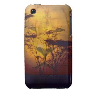 León que mira sobre puesta del sol africana funda bareyly there para iPhone 3 de Case-Mate