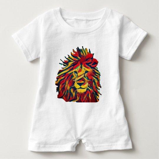 León real de Rasta Body Para Bebé