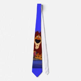 león vergonzoso corbatas personalizadas