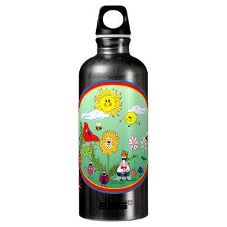 León y amigos excelentes botella de agua