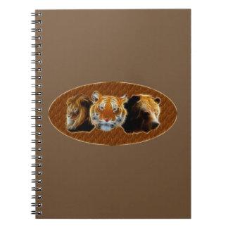 León y tigre y oso cuaderno