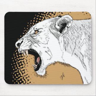 leona alfombrilla de ratón