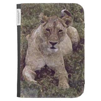 Leona y león