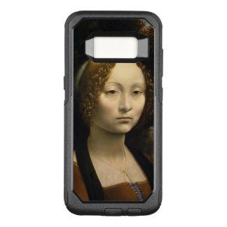 Leonardo da Vinci Ginevra de Benci Funda Otterbox Commuter Para Samsung Galaxy S8