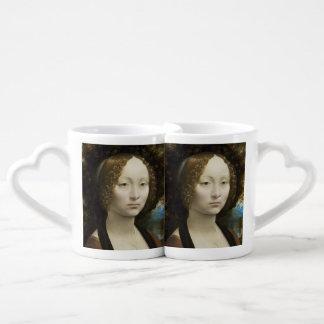 Leonardo da Vinci Ginevra de' Benci Tazas Amorosas