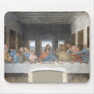 Leonardo da Vinci icónico la última cena Alfombrilla De Ratón