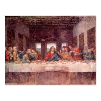 Leonardo da Vinci - la última cena Postal