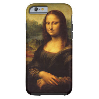 Leonardo da Vinci, Mona Lisa Funda De iPhone 6 Tough