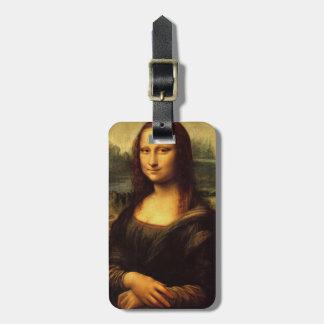 LEONARDO DA VINCI - Mona Lisa, La Gioconda 1503 Etiqueta Para Maletas