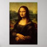 Leonardo da Vinci - Mona Lisa Póster