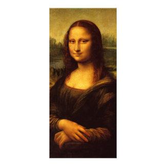 Leonardo da Vinci Mona Lisa Diseño De Tarjeta Publicitaria