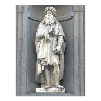 Leonardo da Vinci sumario (15 de abril de 1452 el  Tarjetas Postales