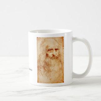 Leonardo da Vinci Taza De Café