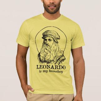 Leonardo es mi Homeboy Camiseta
