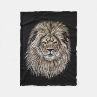 Leonardo la manta del paño grueso y suave del león