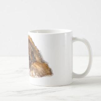Leonberger soñoliento taza de café