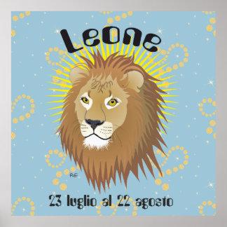 Leone 23 al de 22 pósteres luglio agosto póster