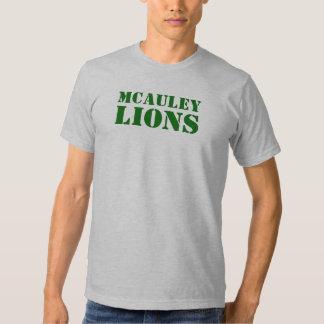 Leones de McAuley Camisetas